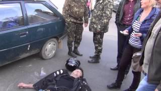 В Василькове разбился мотоциклист.