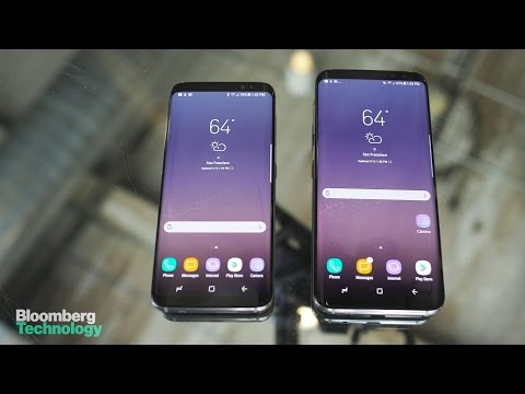 A First Look at the Samsung Galaxy S8