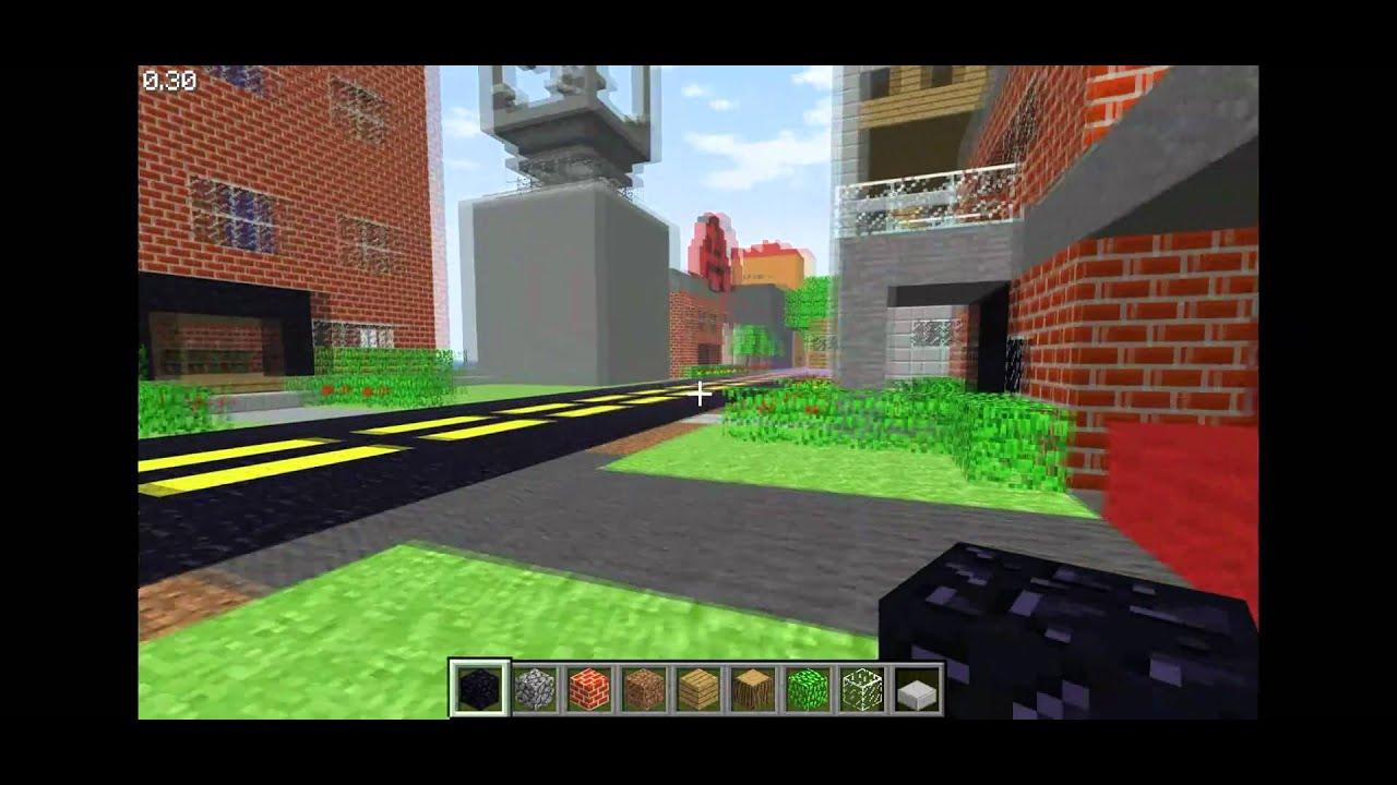 Minecraft Classic Server - OdinsEye.org - YouTube