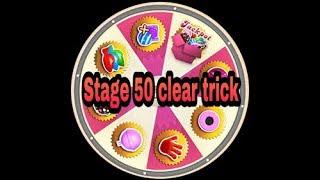 Candy crush saga level 50 clear trick