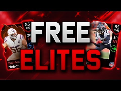 HOW TO GET FREE ELITES ON MADDEN MOBILE 20!
