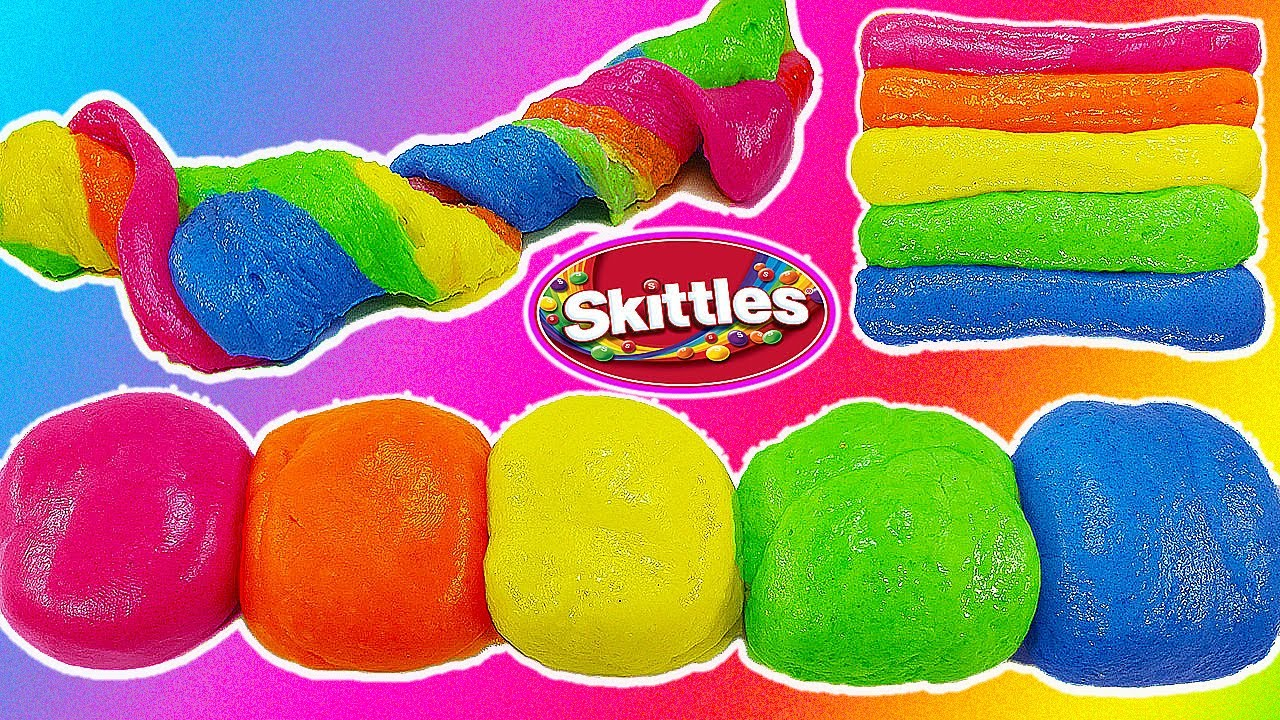 Download DIY  Best EDIBLE SKittles SLIME EVER! SUPER EASY TO MAKE AND TOTALLY EDIBLE!