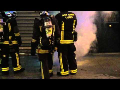 Incendie rue Saint Denis