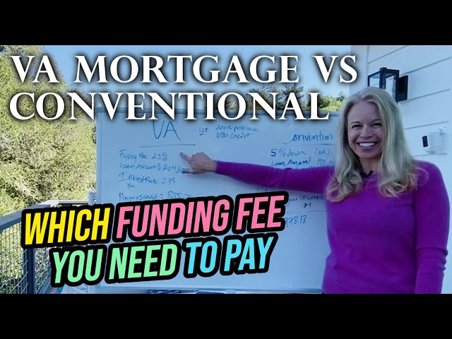 Mortgage Broker Compares VA Loan No Money Down vs. 5% Conventional Mortgage: (VA Home Loans)