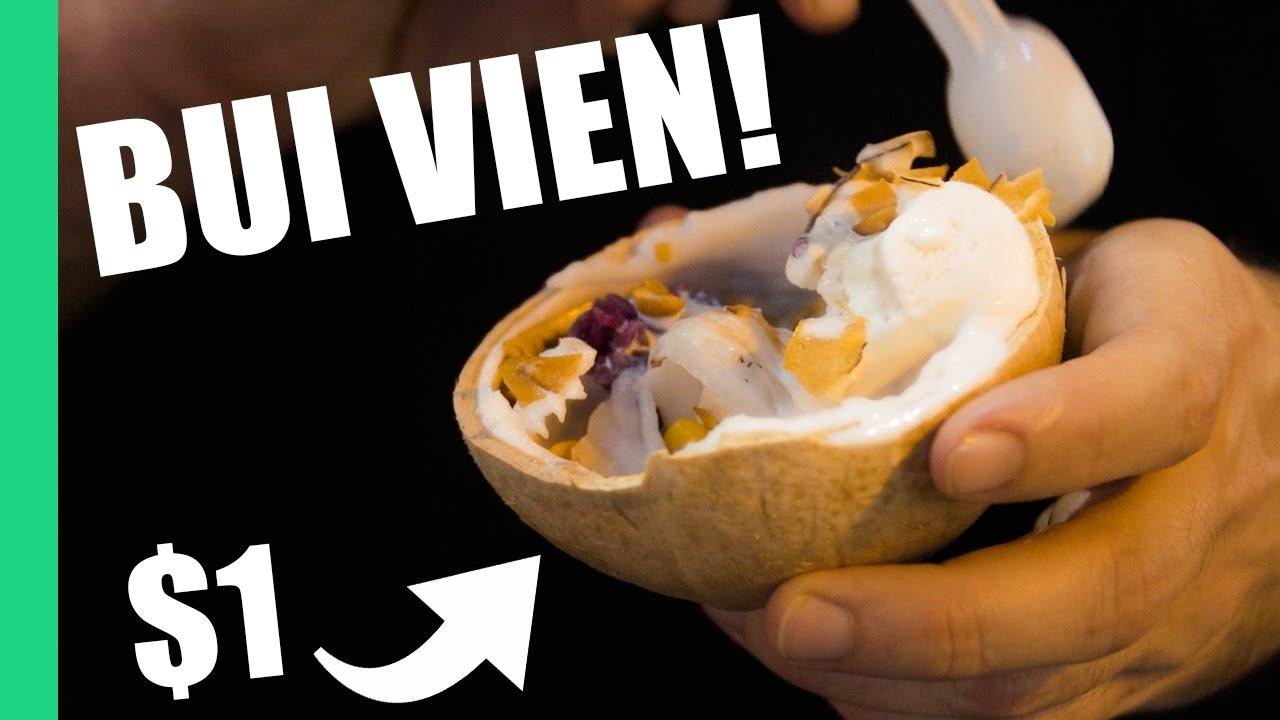 Vietnam's best STREET FOOD on Saigon's wildest street, Bùi Viện!