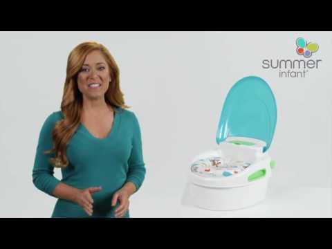 Горшок 3 в 1 Summer Infant Step-By-Step Potty. Видео №1