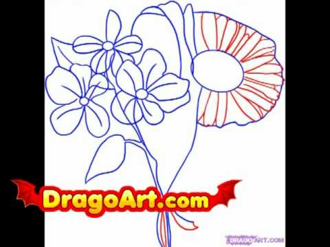 How to draw spring flowers step by step youtube how to draw spring flowers step by step mightylinksfo