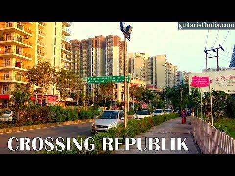 Crossing Republik | Mini Hightech city | National Highway 24 btw Ghaziabad & Noida, India