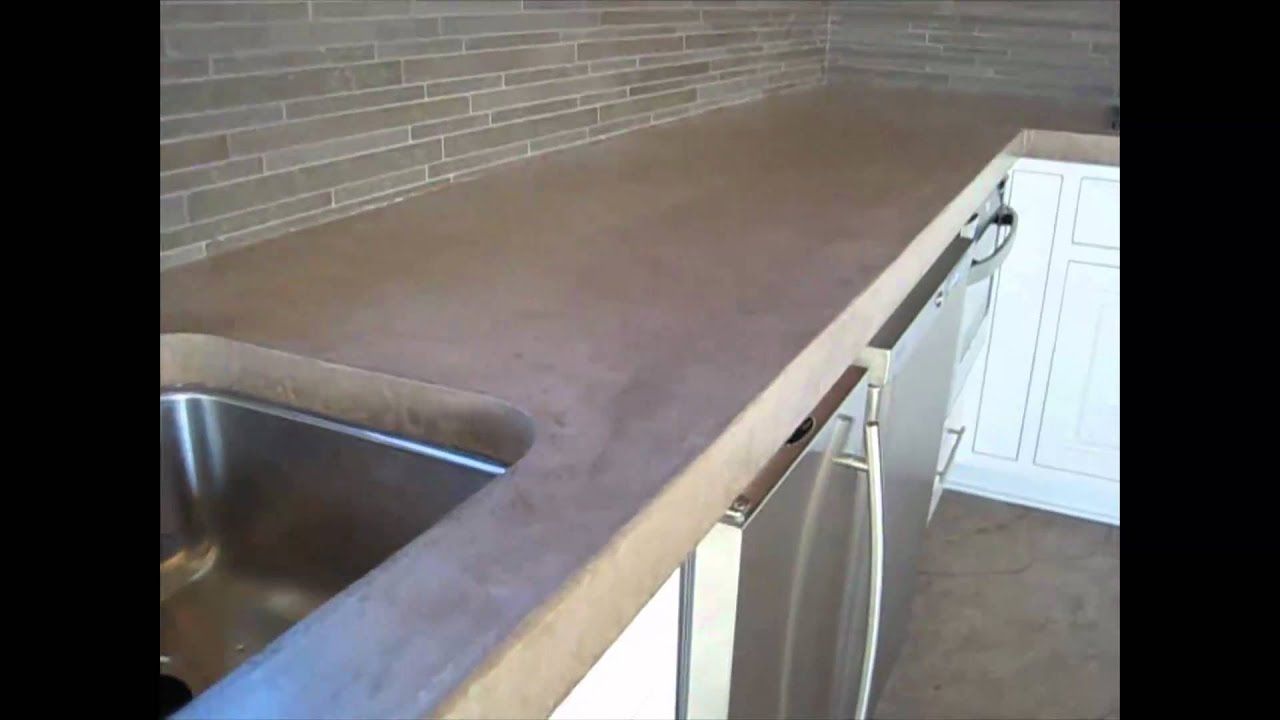 countertop countertops laminate over concrete pin poured diy counters