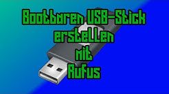 Rufus - Bootbare USB-Sticks erstellen