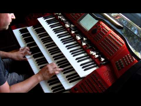 Cquest Of Paradise Vangelis, played  Böhm Emporio organ