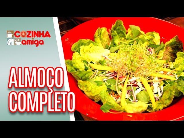 Queijo Brie, Salada e Atum com crosta de gergilim - Giuliana Giunti | Cozinha Amiga (29/01/19)
