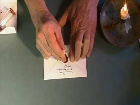 Plier une feuille en 3 pour ins rer dans une enveloppe doovi - Plier une feuille en 3 ...
