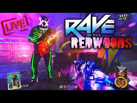 HOW TO PLAY RAVE IN THE REDWOODS SOLO! FASTEST LEGIT WAY TO EARN KEYS IN INFINITE WARFARE