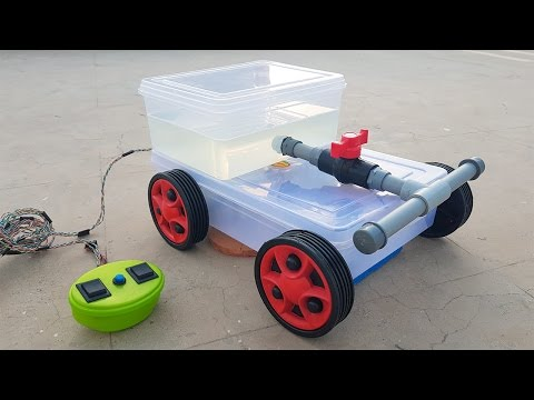 how-to-make-a-floor-cleaning-machine---remote-controlled