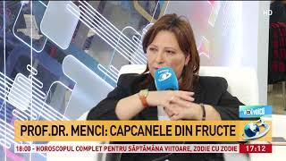 Profesorul Gheorghe Mencinicopschi, despre alimentele care cresc riscul de a face cancer