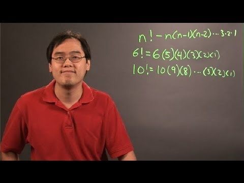How to Solve a Factorial : Principles of Math