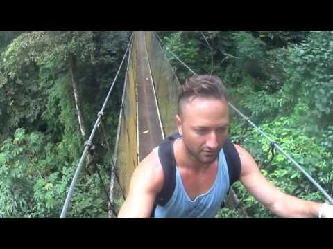 Costa Rica, Rainmaker Swing Bridges