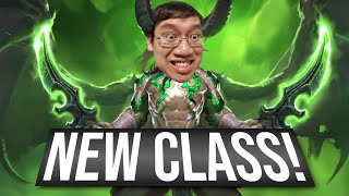 NEW CLASS! DEMON HUNTER! - Ashes of Outland | Review