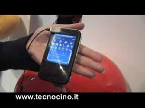 Video Toshiba G810 - test e prova al MWC 2008