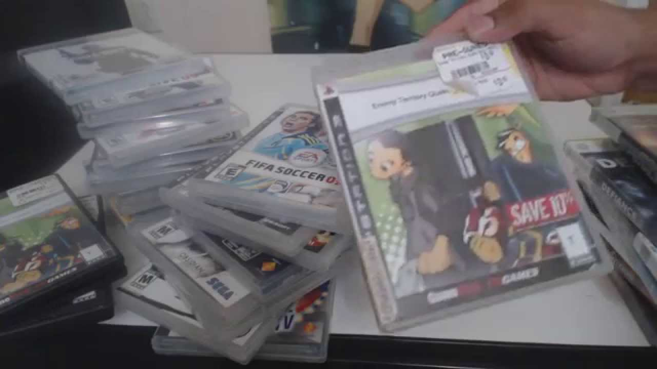 Gamestop Purchases #2 PS3, Xbox 360 and PSP