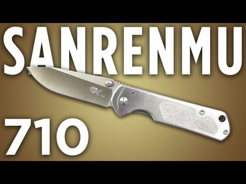 Sanrenmu 710 Knife Review: The Chinese (knives) Are Coming!