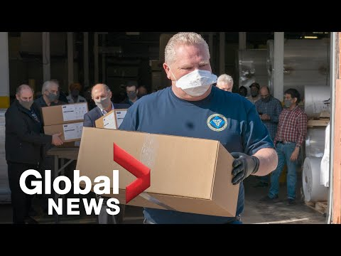 Coronavirus Outbreak: Ontario Government Issues Call-out For Frontline Workers Amid Pandemic | FULL