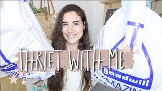 Come Thrift With Me for Fall! 🍂| Goodwill Thrift Home Decor Haul (Plus Thrift Flip)!