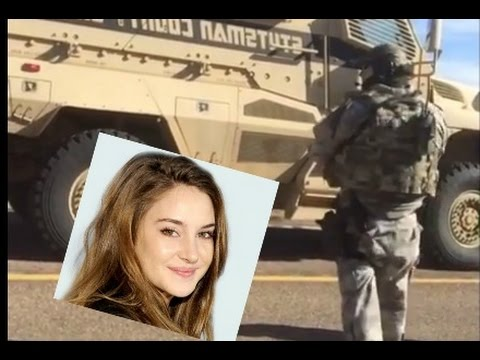 Journalists & Shailene Woodley Illegally Arrested At Oil Pipe Action