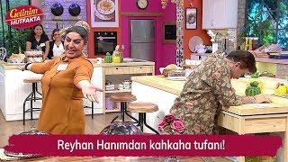 Reyhan Hanımdan kahkaha tufanı! Gelinim Mutfakta 144. Bölüm