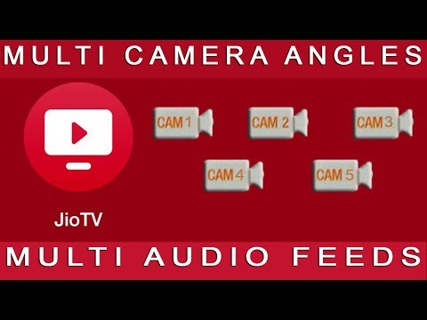 Jio TV New Interactive Live Feature | How to Choose 5 Different Camera Angles and Different Audio?