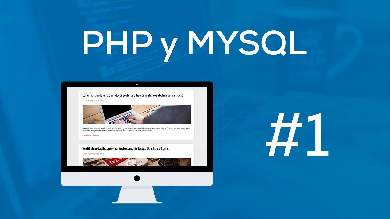 Curso Practico de PHP Desde Cero - 1.- Introducción - YouTube