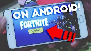 Fortnite Android-Download Fortnite on Android? Fortnite APK Download?