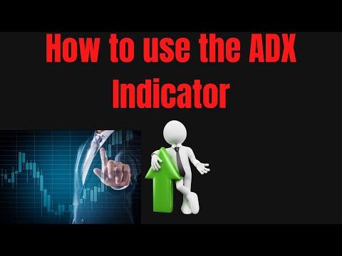 Trading lesson #1 ADX Indicator