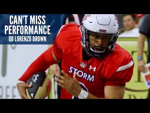 Can't Miss Performance: QB Lorenzo Brown