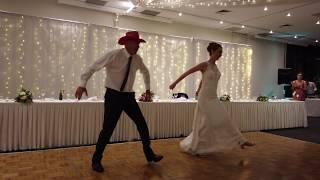 Father Daughter Wedding Dance  Ashleigh & Peter