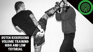 Dutch Kickboxing Advanced Combination Drills Tutorial