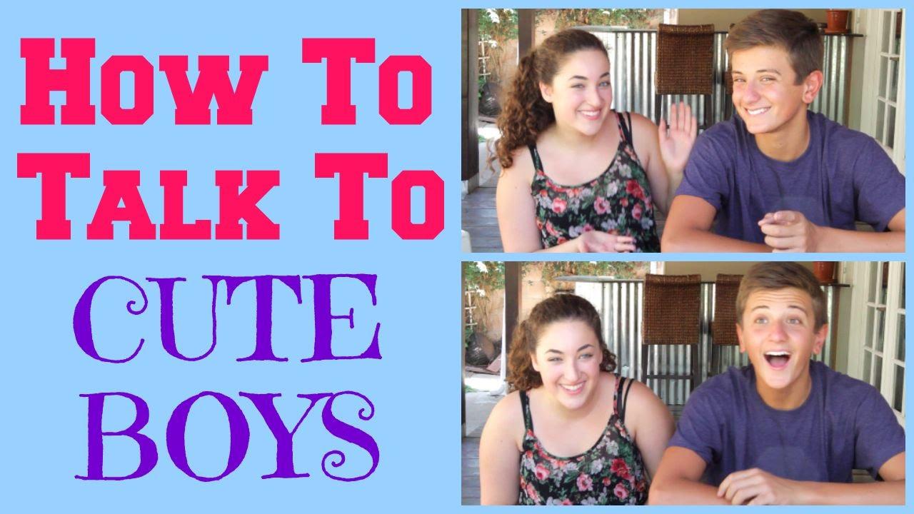 Talk to cute guys online