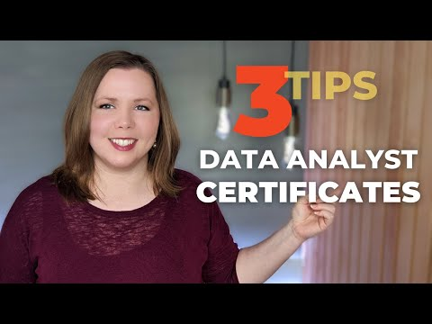 Data Analyst Certificate Programs - What to Look For