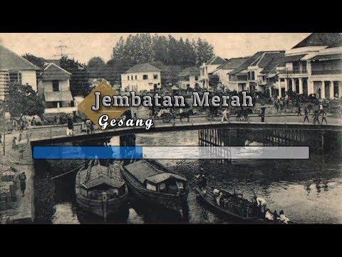 [Tanpa Vokal] ♬ Gesang - Kr. Jembatan Merah ♬ +Lirik Lagu [Midi Karaoke]