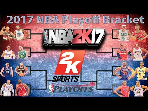 NBA PLAYOFFS SIMULATED IN NBA2K17!!! CRAZY (MUST WATCH)