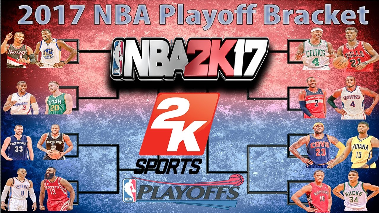 NBA PLAYOFFS SIMULATED IN NBA2K17!!! CRAZY (MUST WATCH ...