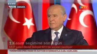 MHP Lideri Devlet BAHÇELİ Star TV ve NTV Ortak Yayınında - TAMAMI-