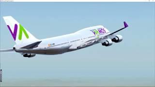 Video FSX VOO ENTRE MALAGA E MADRID - BOEING 747 400 WAMOS AIR download MP3, 3GP, MP4, WEBM, AVI, FLV Juni 2018