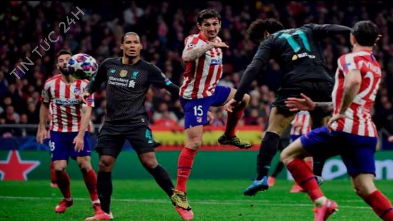 kết quả bóng đá cúp C1 đêm qua rạng sáng nay: Liverpool thua sốc trước Atletico Madrid