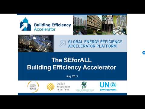How can the Building Efficiency Accelerator assist you in connecting with investors?