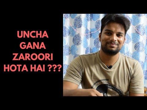 Kya High Notes Gana Important Hai ?? | Singing Classes in hindi | Paarth Singh