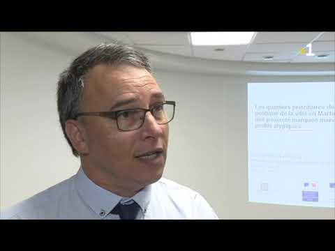 Christophe Basso chef de service territorial de l'INSEE en Martinique