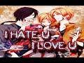 Natsume yuujinchou YAOI I hate U I love U Sub español