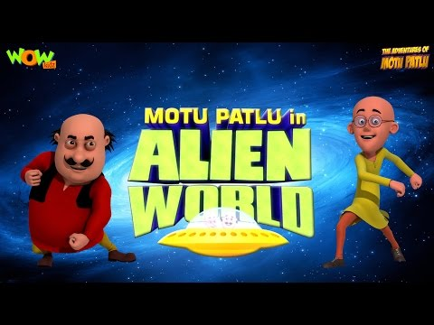 Alien World - Movie - Motu Patlu - ENGLISH, SPANISH & FRENCH